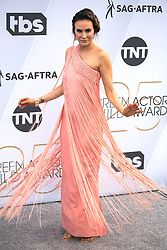 January 27, 2019 - Los Angeles, California, U.S - KELTIE KNIGHT on the red carpet of the 25th Annual Screen Actors Guild Awards held at the Shrine Auditorium. (Credit Image: © Prensa Internacional via ZUMA Wire)