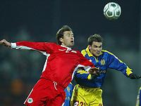 Fotball<br /> Tyskland 2003/04<br /> 2. Bundesliga<br /> FSV Mainz 05<br /> Foto: Digitalsport<br /> NORWAY ONLY<br /> Claudius WEBER<br /> Niclas WEILAND <br /> Bojko VELICHKOV - Oberhausen