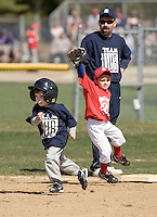Laconia Little League Opening Day games Tee Ball and Major League  April 24, 2010.