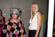 Camila Batmanghelidjh.; GWYNETH PALTROW, Vogue: Fashion's Night Out: Stella McCartney. Stella McCartney, 30 Bruton Street, London. 8 September 2010.  -DO NOT ARCHIVE-© Copyright Photograph by Dafydd Jones. 248 Clapham Rd. London SW9 0PZ. Tel 0207 820 0771. www.dafjones.com.