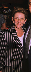 Leading businesswoman MISS PATSY BLOOM at a party in London on 24th September 1998.MKF 7 WO