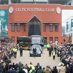 The funeral of former footballer Tommy Gemmell