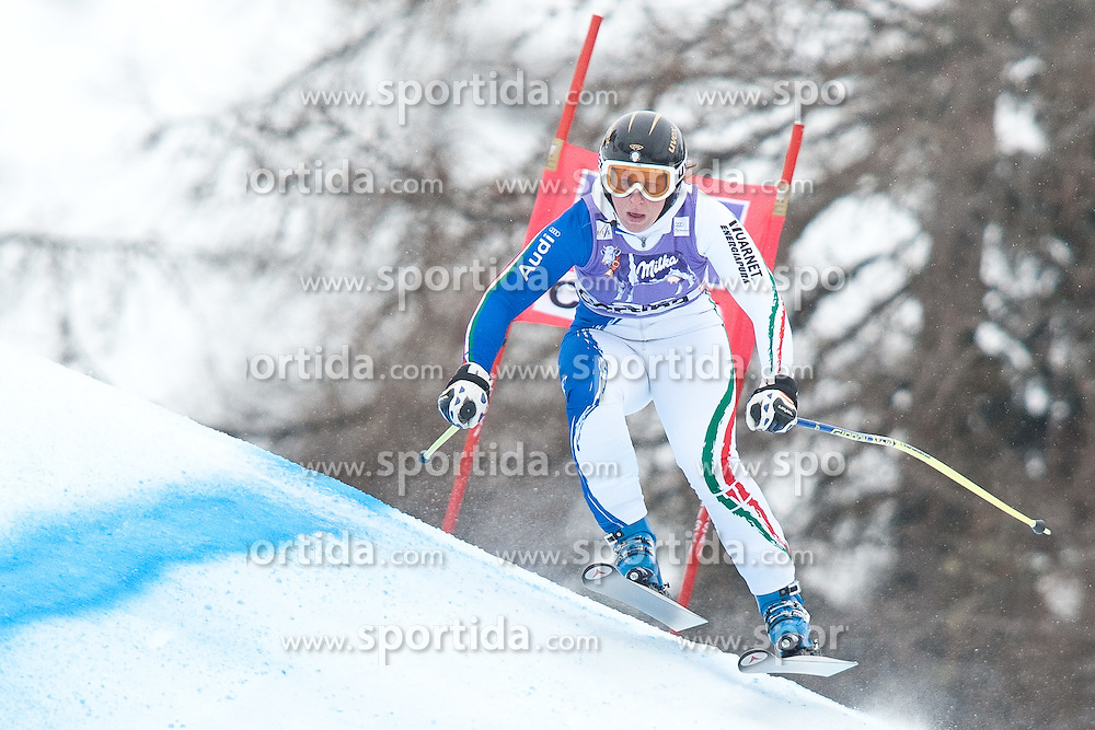 20.01.2011, Tofana, Cortina d Ampezzo, ITA, FIS World Cup Ski Alpin, Lady, Cortina, Abfahrt 2. Training, im Bild Elena Fanchini (ITA, #26) // Elena Fanchini (ITA) during FIS Ski Worldcup ladies downhill second training at pista Tofana in Cortina d Ampezzo, Italy on 20/1/2011. EXPA Pictures © 2011, PhotoCredit: EXPA/ J. Groder