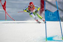 18-02-2018 KOR: Olympic Games day 9, Pyeongchang<br /> Alpine Skiing Men's Giant Slalom at Yongpyong Alpine Centre / Zan Kranjec of Slovenia