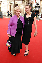 CAMILLA RUTHERFORD and her mother ELIZABETH at the Royal Academy of Art Summer Exhibition Preview Party on 4th June 2008.<br /><br />NON EXCLUSIVE - WORLD RIGHTS