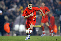 Fotball<br /> Treningskamp - Privatlandskamp<br /> Belgia v Frankrike<br /> 18.02.2004<br /> Foto: Digitalsport<br /> Norway Only<br /> <br /> TIMMY SIMONS (BEL)