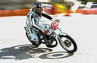 29-09-2013 Santander<br /> IV Gran Carrera Motos Clasicas en el Palacio de la Magdalena<br /> Luis Fenandez Cano , con la moto Ossa 250<br /> Fotos: Juan Manuel Serrano Arce