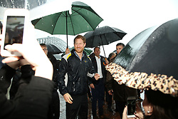 Prince Harry joined NSW Premier Gladys Berejiklian and Veterans Affairs minister David Elliott for a walk around Campbell's Cove at 2pm where members of the public met the prince. 07 Jun 2017 Pictured: Prince Henry of Wales, Prince Harry. Photo credit: Richard Milnes / MEGA TheMegaAgency.com +1 888 505 6342
