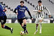 Foto Marco Alpozzi/LaPresse <br /> 16 Dicembre 2020 Torino, Italia <br /> sport calcio <br /> Juventus Vs Atalanta - Campionato di calcio Serie A TIM 2020/2021 - Allianz Stadium<br /> Nella foto:    <br /> Aleksei Miranchuk (Atalanta B.C.); Alvaro Morata (Juventus F.C.);<br /> <br /> Photo Marco Alpozzi/LaPresse <br /> December 16, 2020 Turin, Italy <br /> sport soccer <br /> Juventus Vs Atalanta - Italian Football Championship League A TIM 2020/2021 - Allianz Stadium<br /> In the pic:    Aleksei Miranchuk (Atalanta B.C.); Alvaro Morata (Juventus F.C.);