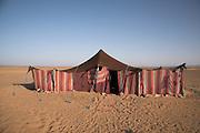 Sahara desert, Zagora, Morocco Berber tent, Sahara desert, Zagora, Morocco, north Africa