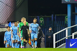 Coventry City players emerge from the tunnel before kick off - Mandatory by-line: Nick Browning/JMP - 20/11/2020 - FOOTBALL - St Andrews - Birmingham, England - Coventry City v Birmingham City - Sky Bet Championship