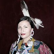 Keeli Nehani of the Confederated Tribes of Warm Springs at Willamette University's annual Social Pow Wow.