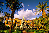 Palazzo dei Normanni (Palace of the Normans),  Palermo, Sicily, Italy