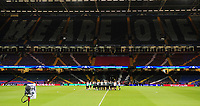 A general view of the Principality Stadium during Juventus' training session<br /> <br /> Photographer Kevin Barnes/CameraSport<br /> <br /> UEFA Champions League Final - Training session - Juventus v Real Madrid - Friday 2nd June 2017 - Principality Stadium - Cardiff<br />  <br /> World Copyright © 2017 CameraSport. All rights reserved. 43 Linden Ave. Countesthorpe. Leicester. England. LE8 5PG - Tel: +44 (0) 116 277 4147 - admin@camerasport.com - www.camerasport.com