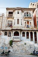 Piraeus, Greece. Old buildings.