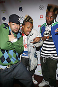 l to r: DJ Envy and The Retro Kidz at The Jamie Foxx's Album Release Party for Intuition, Sponsored by Vibe Magazine & Patron Tequila held at Home on December 17, 2008 in New York City..