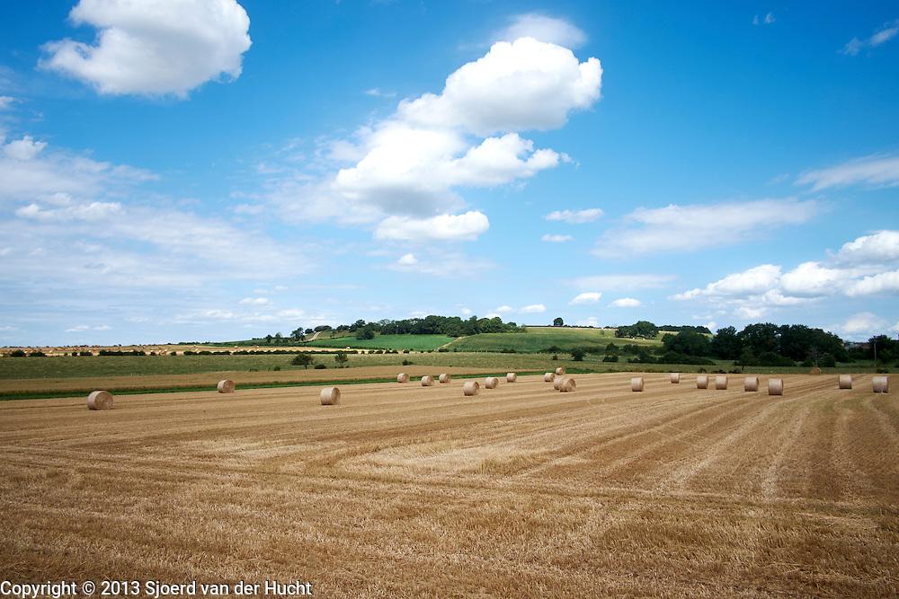 Pays de Langres, Frankrijk. Landschap bij Langres - Pays  de Langres, France. Langres landscape