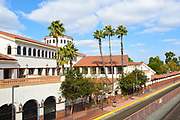 Santa Ana Amtrak and Metrolink Station