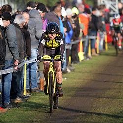 27-12-2019: Wielrennen: DVV veldrijden: Loenhout:Francesca Baroni