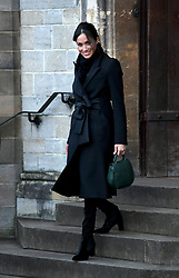 Meghan Markle during a visit to Cardiff Castle, Thursday January 18th, 2018