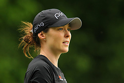 May 26, 2018 - Ann Arbor, Michigan, United States - Brittany Altomare of the United States walks down the fairway toward the 5th green during the third round of the LPGA Volvik Championship at Travis Pointe Country Club, Ann Arbor, MI, USA Saturday, May 26, 2018. (Credit Image: © Amy Lemus/NurPhoto via ZUMA Press)