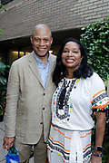 May 14, 2014- Harlem, New York-United States: (L-R) Eric Pryor, President, Harlem School of The Arts and Janice Savin Williams, Vice Chair, HSA Board of Directors attend the Harlem School of the Arts Jump and Wave Benefit held at the Harlem School of the Arts- The Herb Alpert Center on May 18, 2017 in Harlem, New York City. Harlem School of the Arts enriches the lives of young people and their families through world-class training in and exposure to the arts across multiple disciplines in an environment that emphasizes rigorous training, stimulates creativity, builds self-confidence, and adds a dimension of beauty to their lives.(Photo by Terrence Jennings/terrencejennings.com)