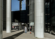 Rotterdam, street scene near the train station