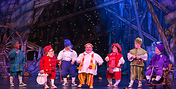 "© Licensed to London News Pictures. 06/12/2012. London, England. Priscilla Presley makes her pantomime debut in ""Snow White and the Seven Dwarfs"" at the New Wimbledon Theatre, Wimbledon, from 7 December 2012 to 13 January 2013. Warwick Davis and Jarred Christmas star alongside her. Images from the Dress Rehearsal. Photo credit: Bettina Strenske/LNP"