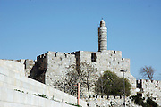 King Davids tower, Jerusalem, Israel