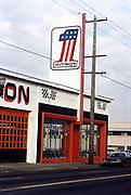 CS03018. Harley store 5225 NE Union @ Sumner-Emerson Feb. 6, 1974. Now Vanport Square
