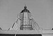 Steeple of Empire State Building, designed by Shreve, Lamb & Harmon, William F. Lamb as chief designer, Manhattan, New York City, New York
