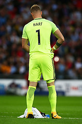 September 4, 2017 - London, England, United Kingdom - England's Joe Hart..during World Cup Qualifying - European Group F match between England  and Slovakia  at Wembley stadium, London  on 05 Sept , 2017  (Credit Image: © Kieran Galvin/NurPhoto via ZUMA Press)