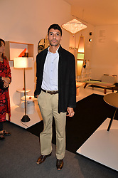 Karim El Fatih at the 2017 PAD Collector's Preview, Berkeley Square, London, England. 02 October 2017.