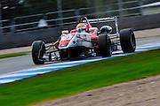 2012 British F3 International Series.Donington Park, Leicestershire, UK.27th - 30th September 2012.Hannes van Asseldonk, Fortec Motorsport..World Copyright: Jamey Price/LAT Photographic.ref: Digital Image Donington_F3-18296