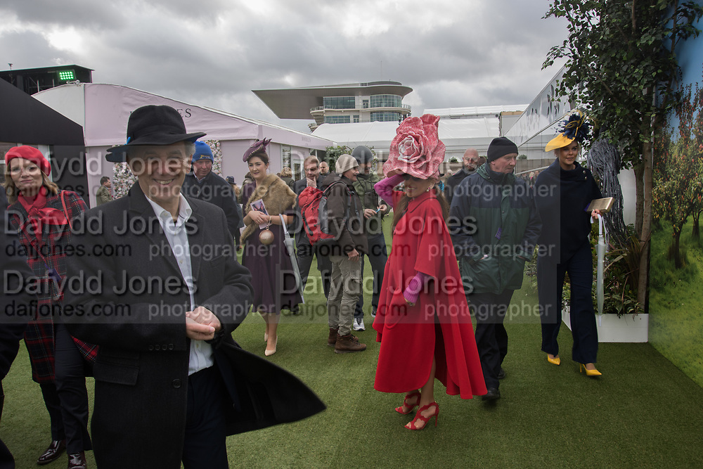 RUSSELL ROSE; TRACY ROSE, Ladies Day, Cheltenham Festival, 13 March 2019
