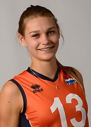07-04-2014 NED: SELECTIE JONG ORANJE: ARNHEM<br /> Volleybalteam Jong Oranje / Nika Daalderop<br /> ©2014-FotoHoogendoorn.nl