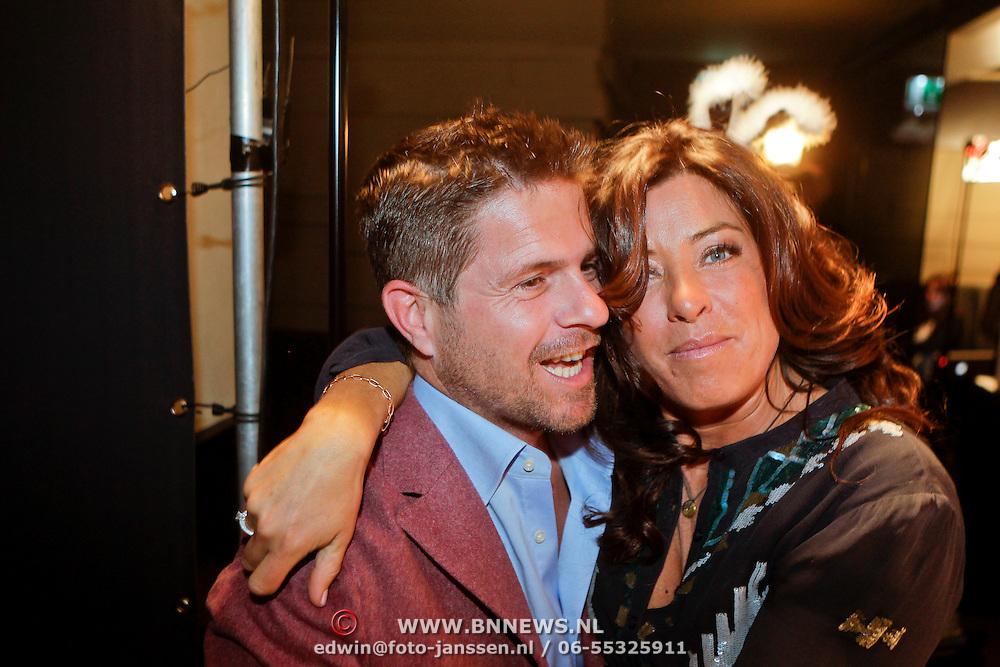 NLD/Amsterdam/20111006 - Lancering Playboy met Amanda Krabbe, met haar broer