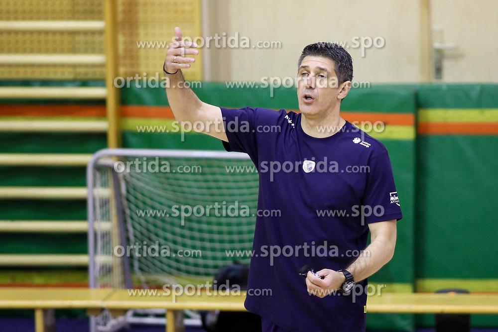 Slobodan Kovac, head coach of Slovenia during training camp of Slovenian Volleyball Men Team before Qualification tournament for FIVB Volleyball World Championship, on May 11, 2017 in Arena Vitranc, Kranjska Gora, Slovenia. Photo by Matic Klansek Velej / Sportida