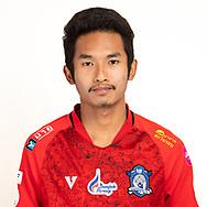 THAILAND - JUNE 03: Saharath Kaewsangsai #13 of Chiangmai FC on June 03, 2019.<br /> .<br /> .<br /> .<br /> (Photo by: Naratip Golf Srisupab/SEALs Sports Images/MB Media Solutions)