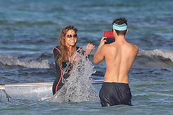St Barts,03 January 2019<br /> Mariah Carey holidaying in St Barts with companion and daughter<br /> ABACAPRESS.COM