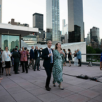 Reception to mark the end of The Ocean Conference at the UN in New York on June 09, 2017.