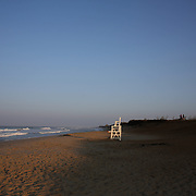 An early morning beach scene at Cisco Beach, Nantucket, Nantucket Island, Massachusetts, USA. Photo Tim Clayton