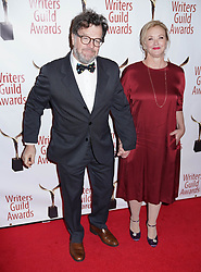 Kenneth Lonergan and J Smith Cameron arrivals at the Writers Guild Awards 2019 in New York City, USA on February 17, 2019.
