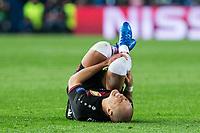 Javier Hernandez Chicharito of Bayer 04 Leverkusen during the match of Uefa Champions League between Atletico de Madrid and Bayer Leverkusen at Vicente Calderon Stadium  in Madrid, Spain. March 15, 2017. (ALTERPHOTOS / Rodrigo Jimenez)