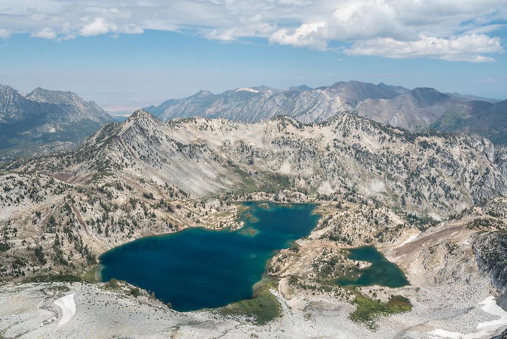 Subalpine lakes in Oregon's Wallowa Mountains.