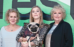 Edinburgh International Film Festival, Thursday, 28th June 2018<br /> <br /> PATRICK (SPECIAL SCREENING)<br /> <br /> Pictured:  Writer & producer Vanessa Davies, Beattie Edmondson with Harley the dog and director Mandie Fletcher <br /> <br /> <br /> (c) Alex Todd | Edinburgh Elite media