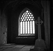 Holycross (Cistercian) Abbey, River Suir, Tipperary.02/09/1953