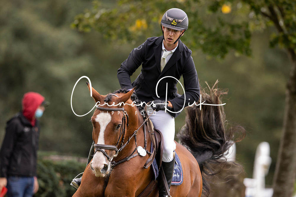 Tormans Martijn, BEL, Oberon van den Berg<br /> Nationaal Kampioenschap LRV <br /> Paarden - Lummen 2020<br /> © Hippo Foto - Dirk Caremans<br /> 26/09/2020