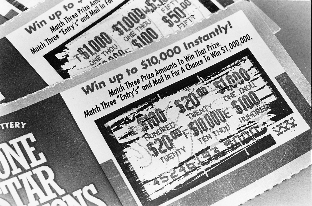 ©1992 Texas Lottery tickets in the first year of the Texas Lottery.