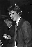 Viscount Althorp 13/9/1986 ONE TIME USE ONLY - DO NOT ARCHIVE  © Copyright Photograph by Dafydd Jones 66 Stockwell Park Rd. London SW9 0DA Tel 020 7733 0108 www.dafjones.com